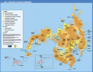 Languages and cultures in Mindanao