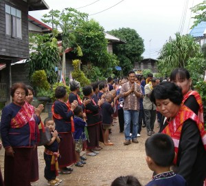 Phu-Tai ethnic group, Ban Phu village, Thailand