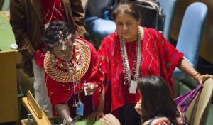 Delegates gather for the opening of the 12th UN Permanent Forum on Indigenous Issues (UNPFII)