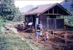 Building the first school house in the 1990s