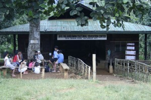 Facilities: School building with class outside