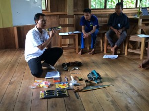 Explaining the different power and manual tools used in furniture carpentry